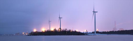 Wind power in Raahe Finland